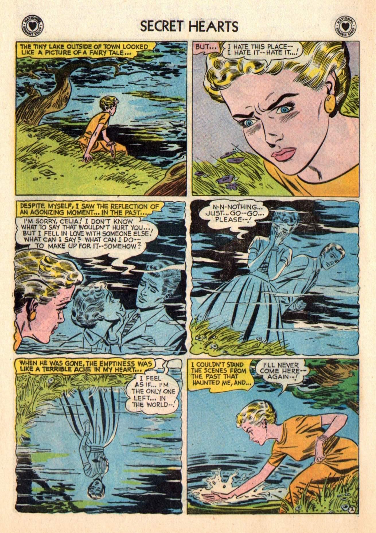 Read online Secret Hearts comic -  Issue #48 - 28