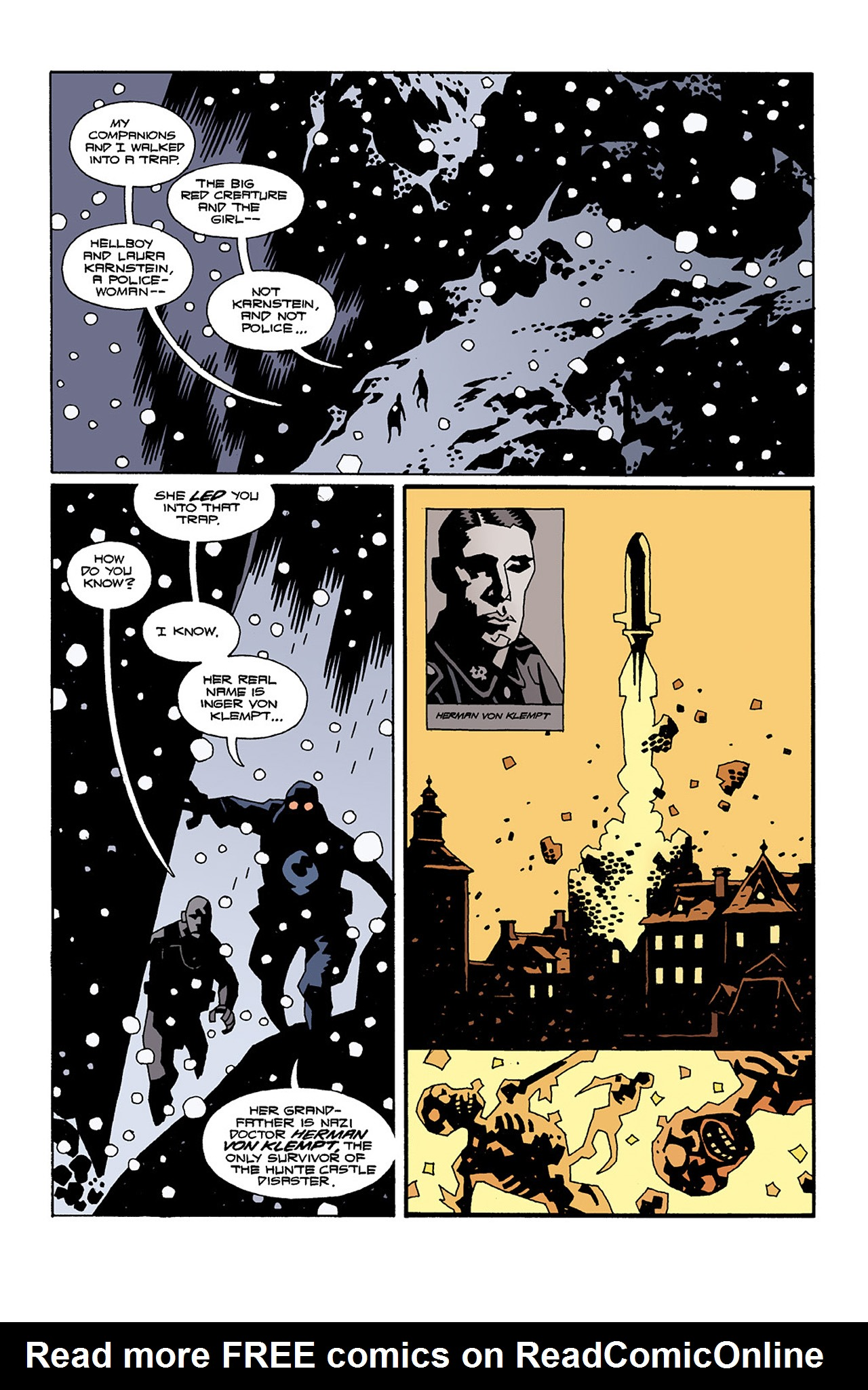 Read online Hellboy: Conqueror Worm comic -  Issue #2 - 11