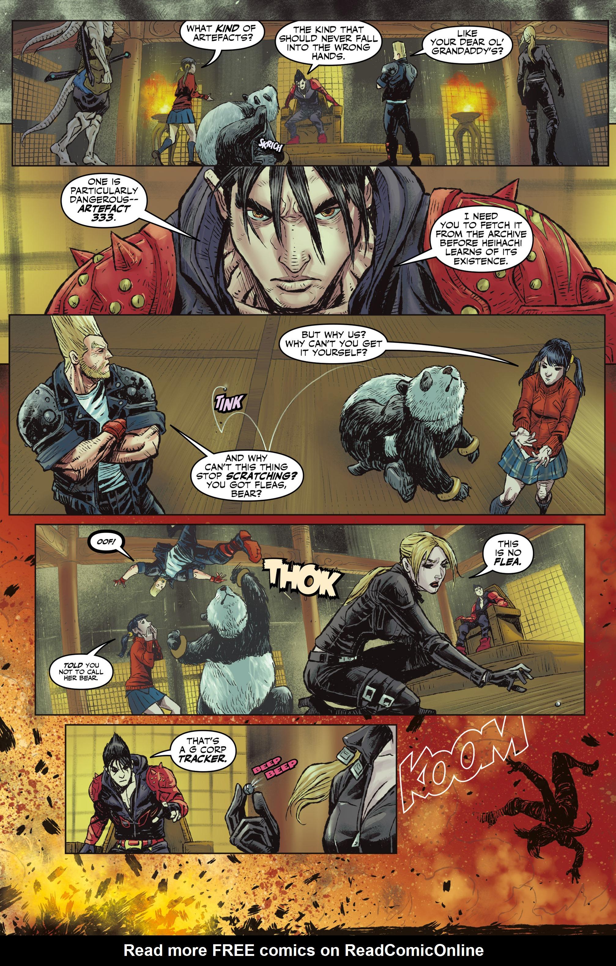 Read online Tekken comic -  Issue #1 - 27