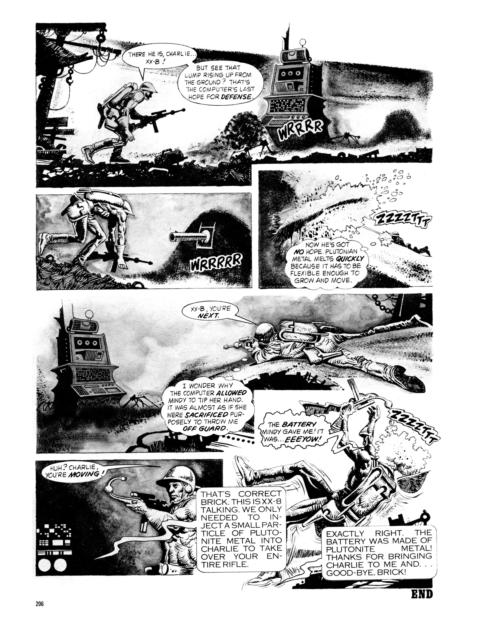 Read online Eerie Archives comic -  Issue # TPB 18 - 203