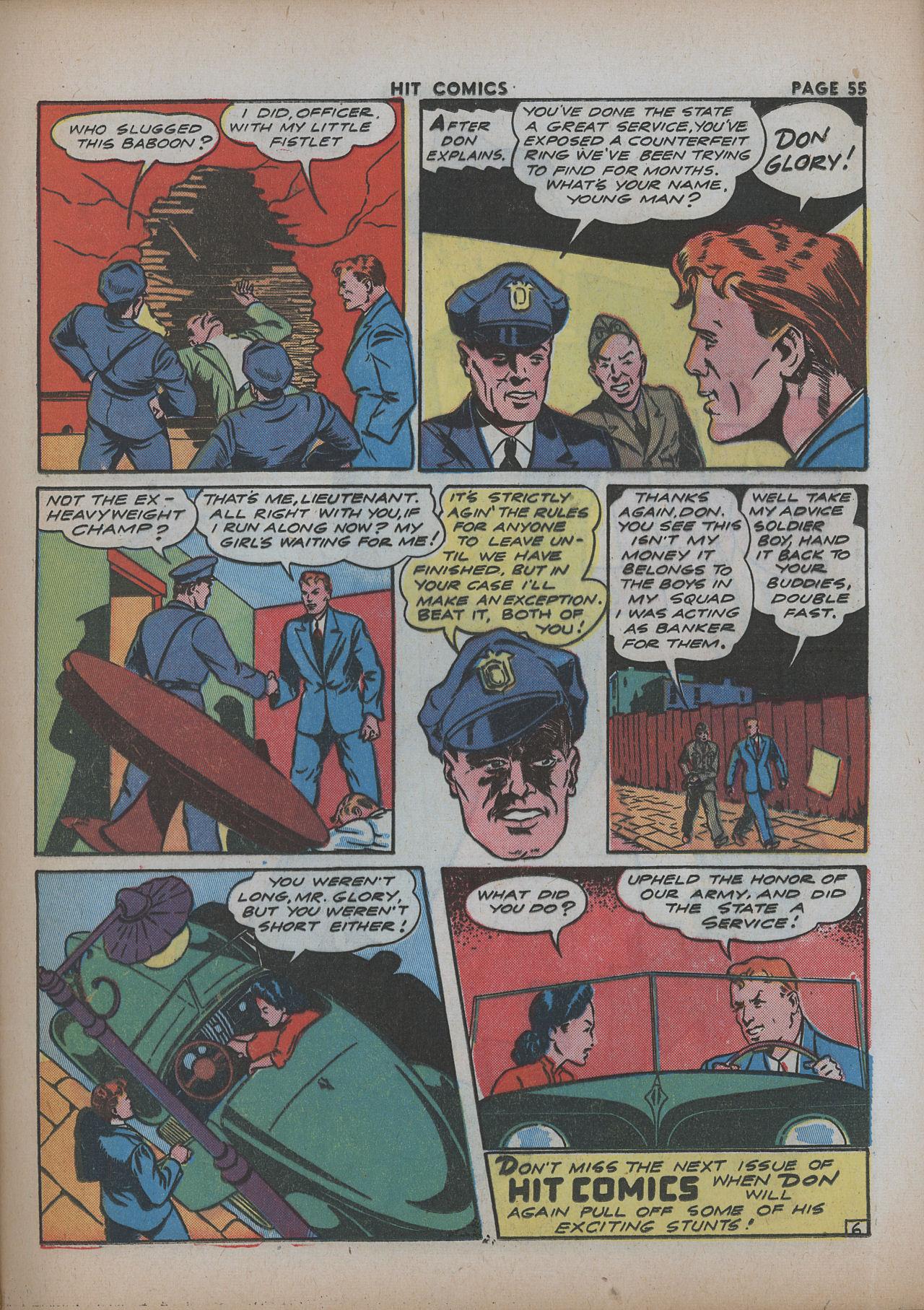 Read online Hit Comics comic -  Issue #26 - 56