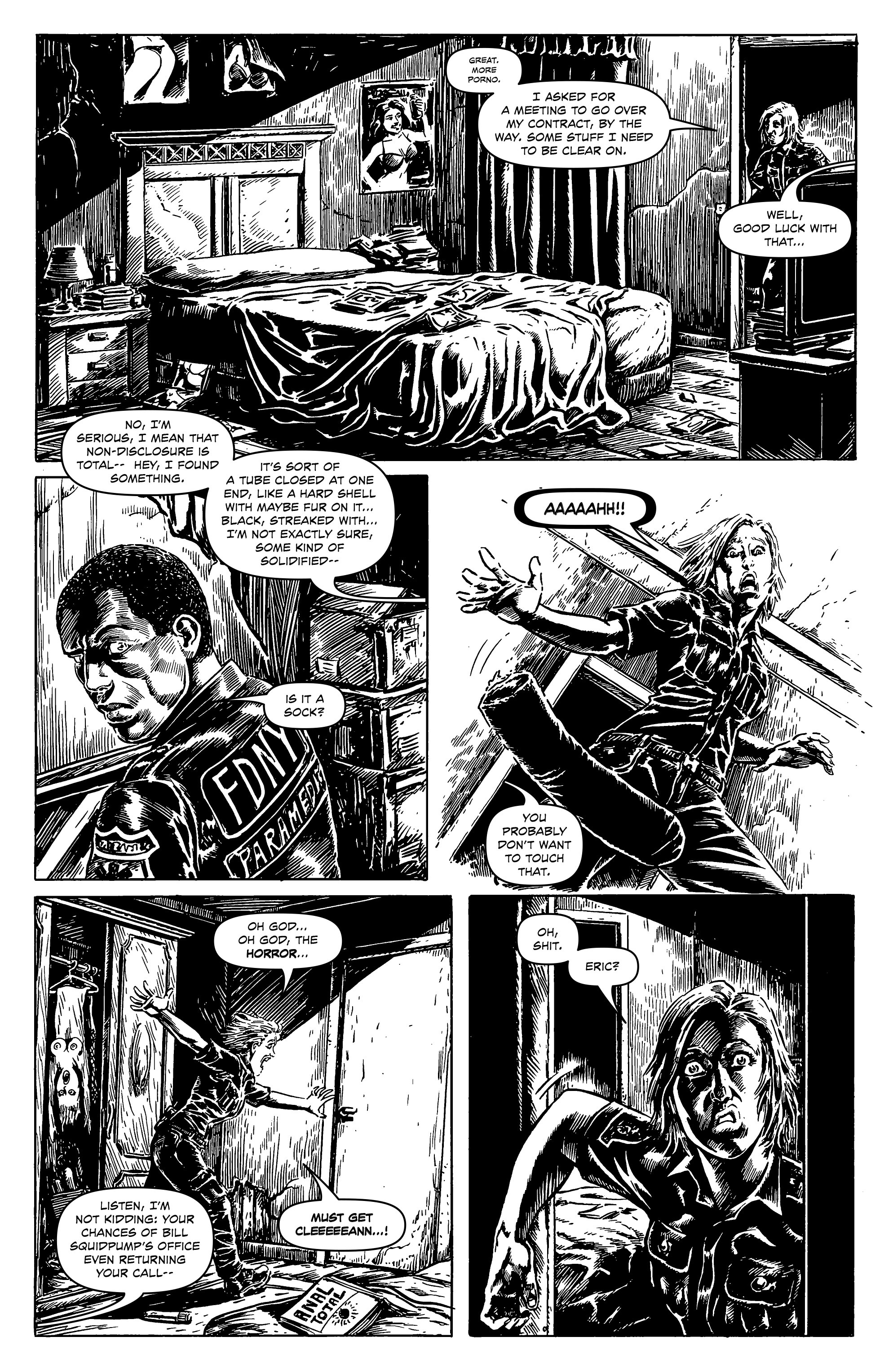 Read online Alan Moore's Cinema Purgatorio comic -  Issue #8 - 17