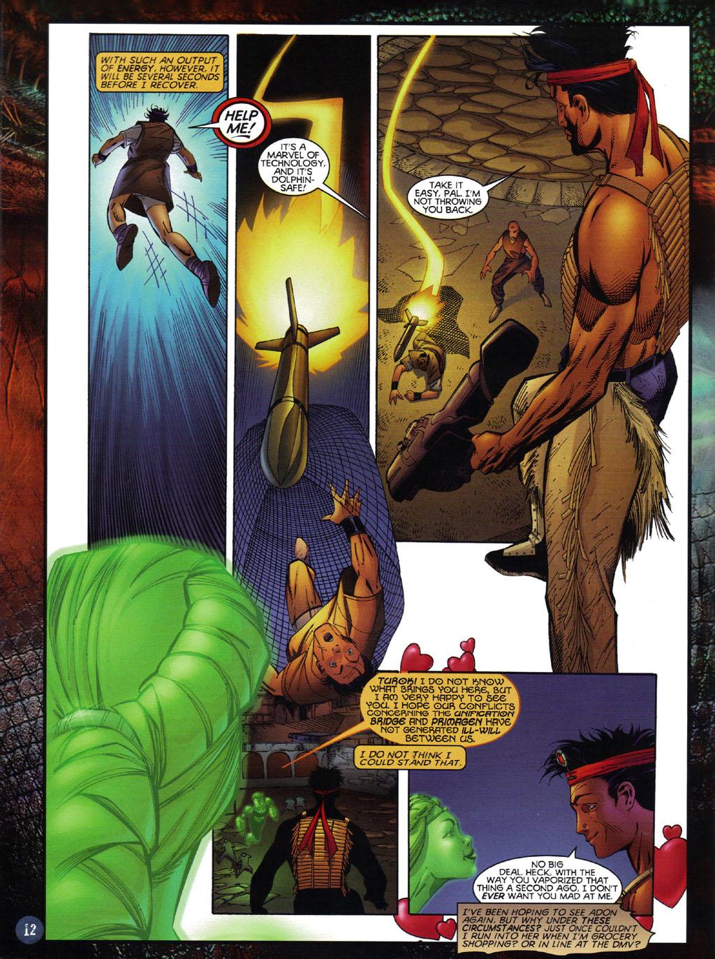 Read online Turok 2: Adon's Curse comic -  Issue # Full - 13