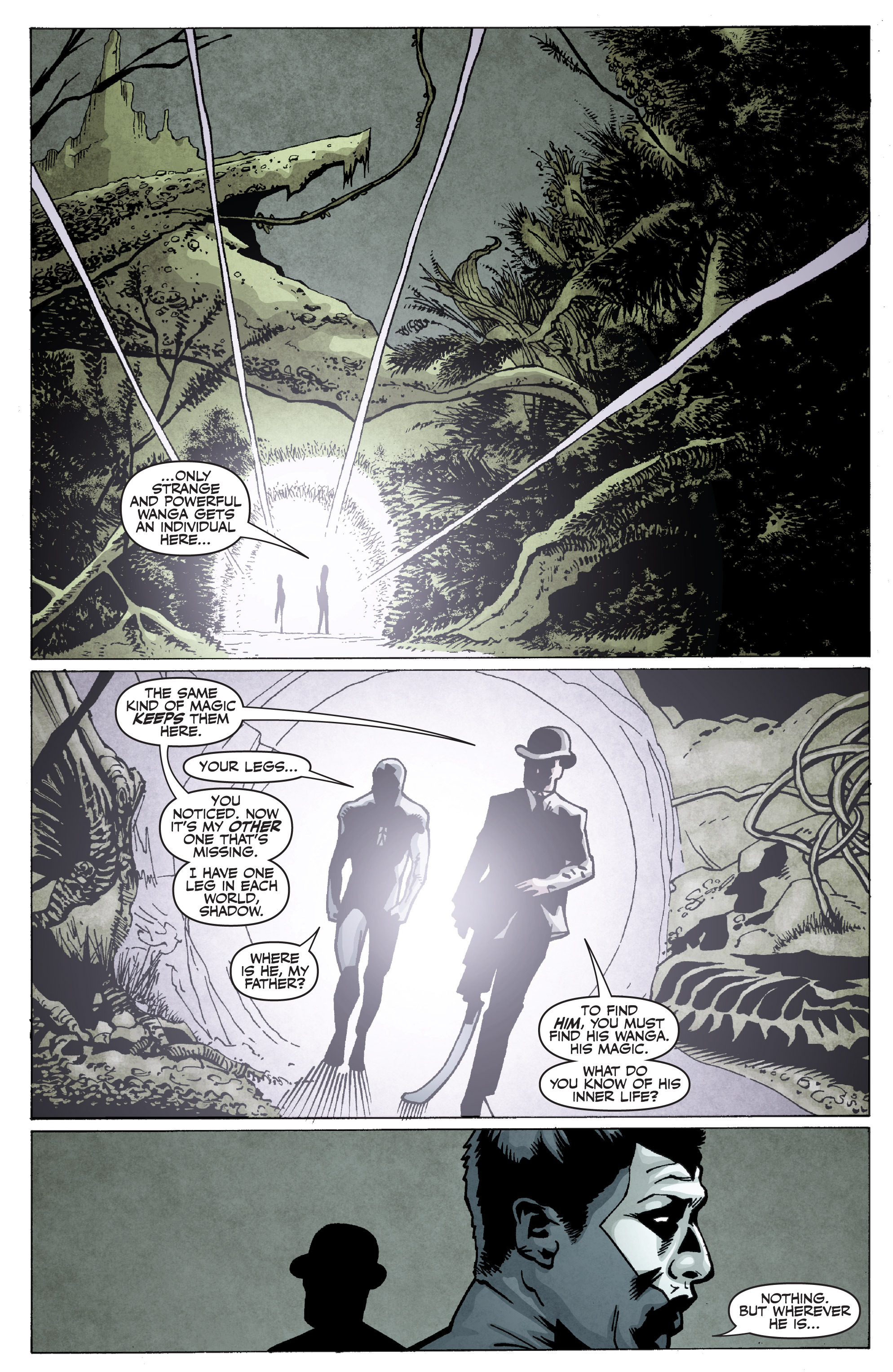 Read online Shadowman: End Times comic -  Issue #2 - 23