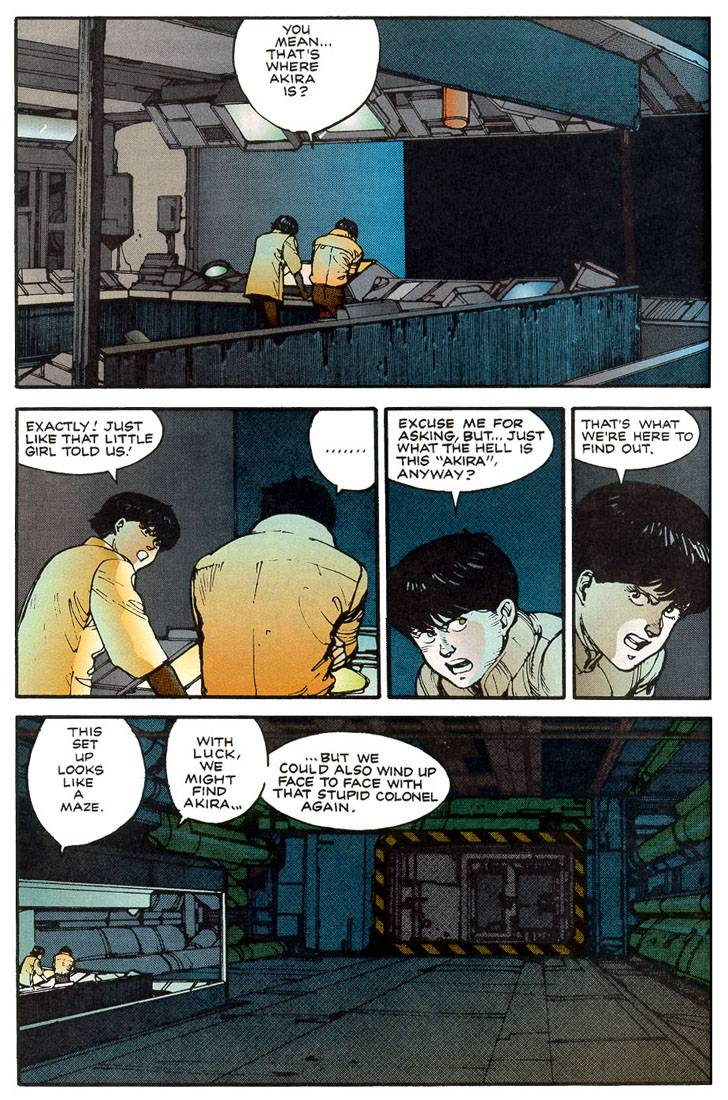 Read online Akira comic -  Issue #10 - 41