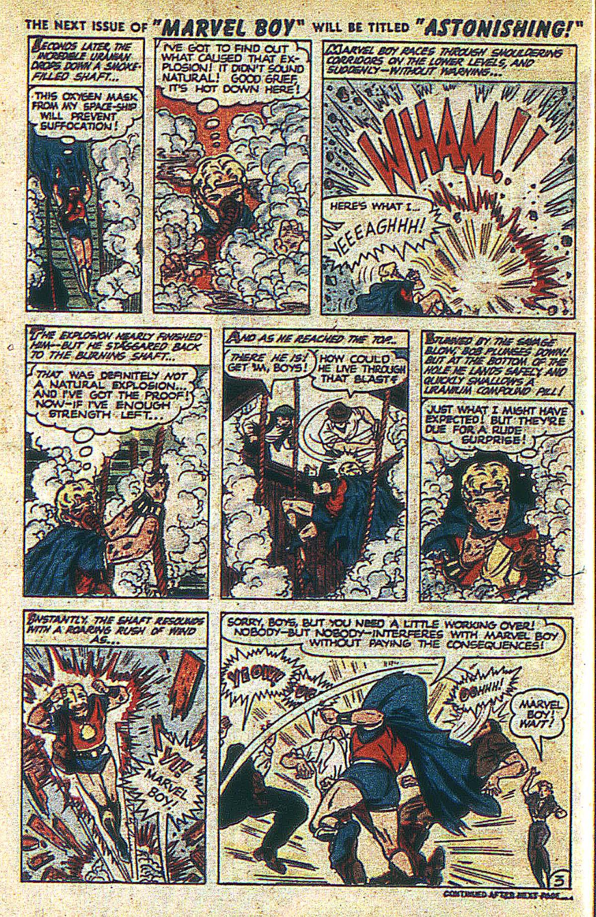 Read online Marvel Boy (1950) comic -  Issue #2 - 15