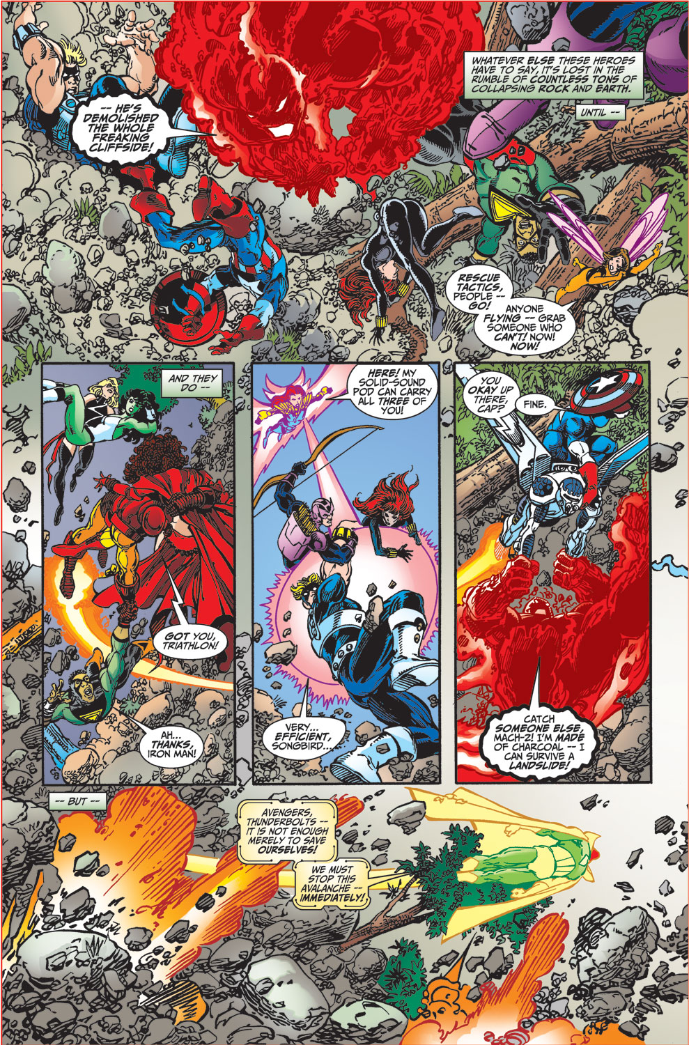 Read online Avengers (1998) comic -  Issue #34 - 5