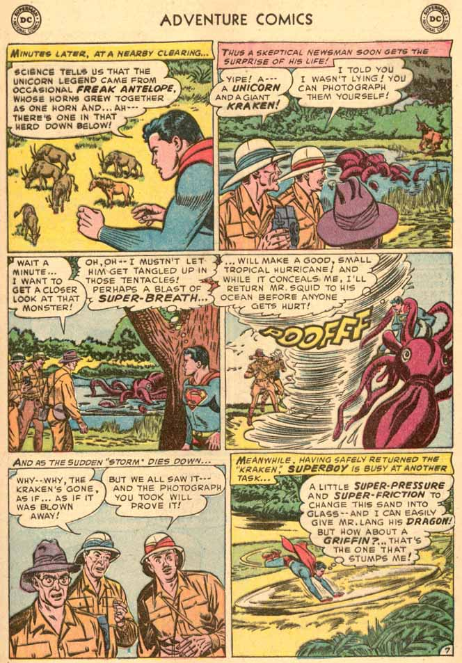 Read online Adventure Comics (1938) comic -  Issue #185 - 9