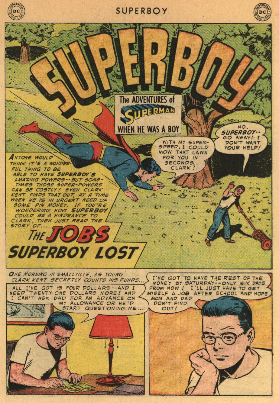 Superboy (1949) issue 44 - Page 11