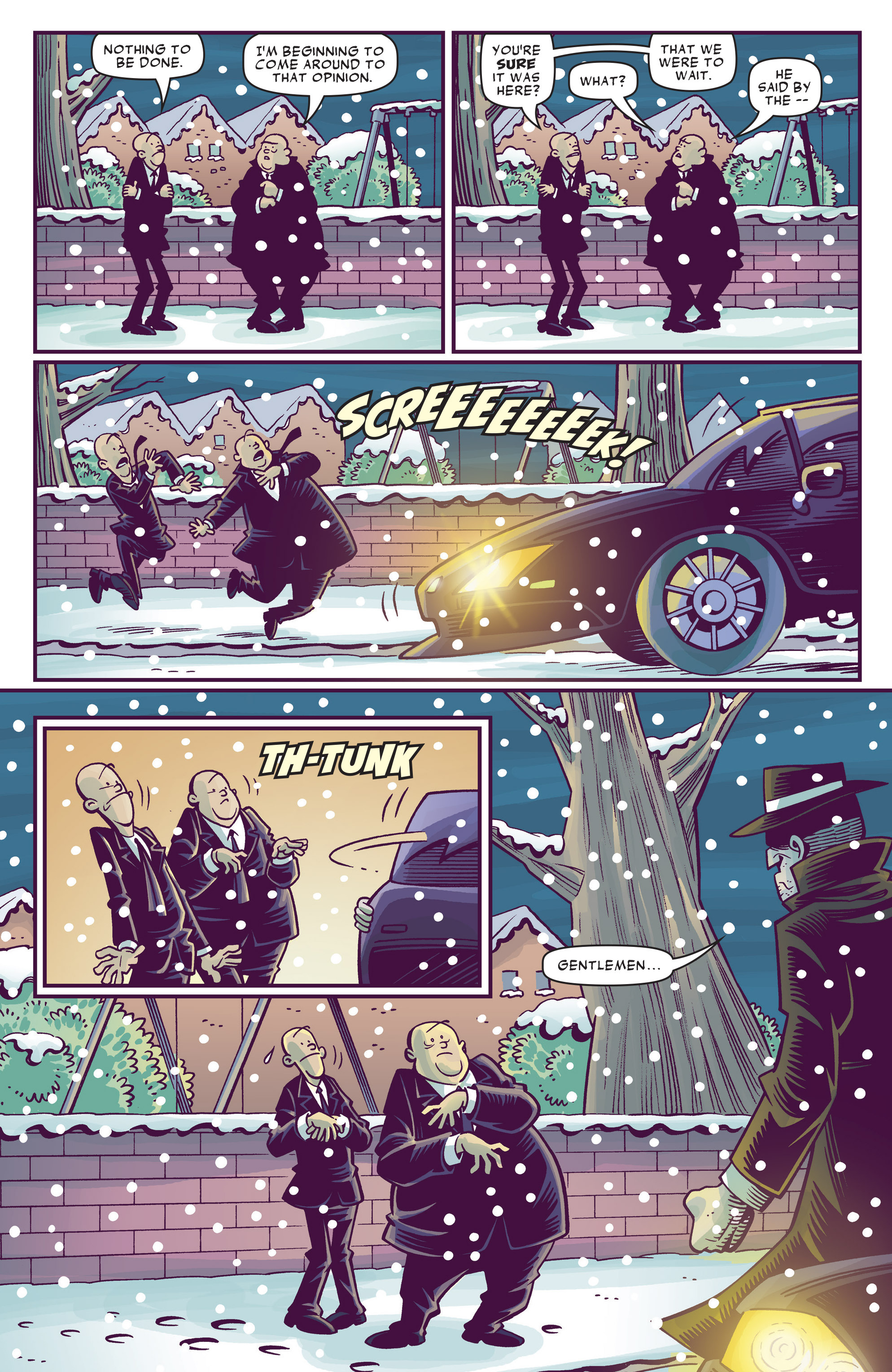 Read online Abigail And The Snowman comic -  Issue #3 - 12