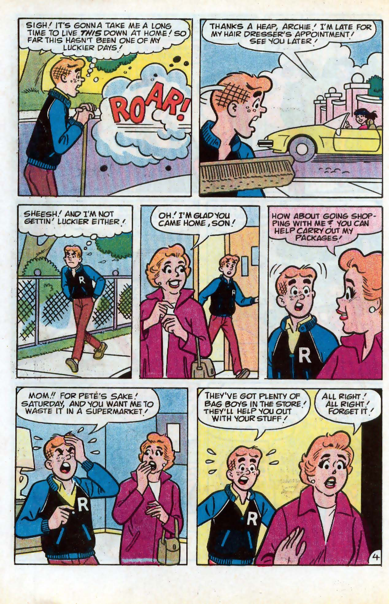 Read online Archie (1960) comic -  Issue #331 - 5