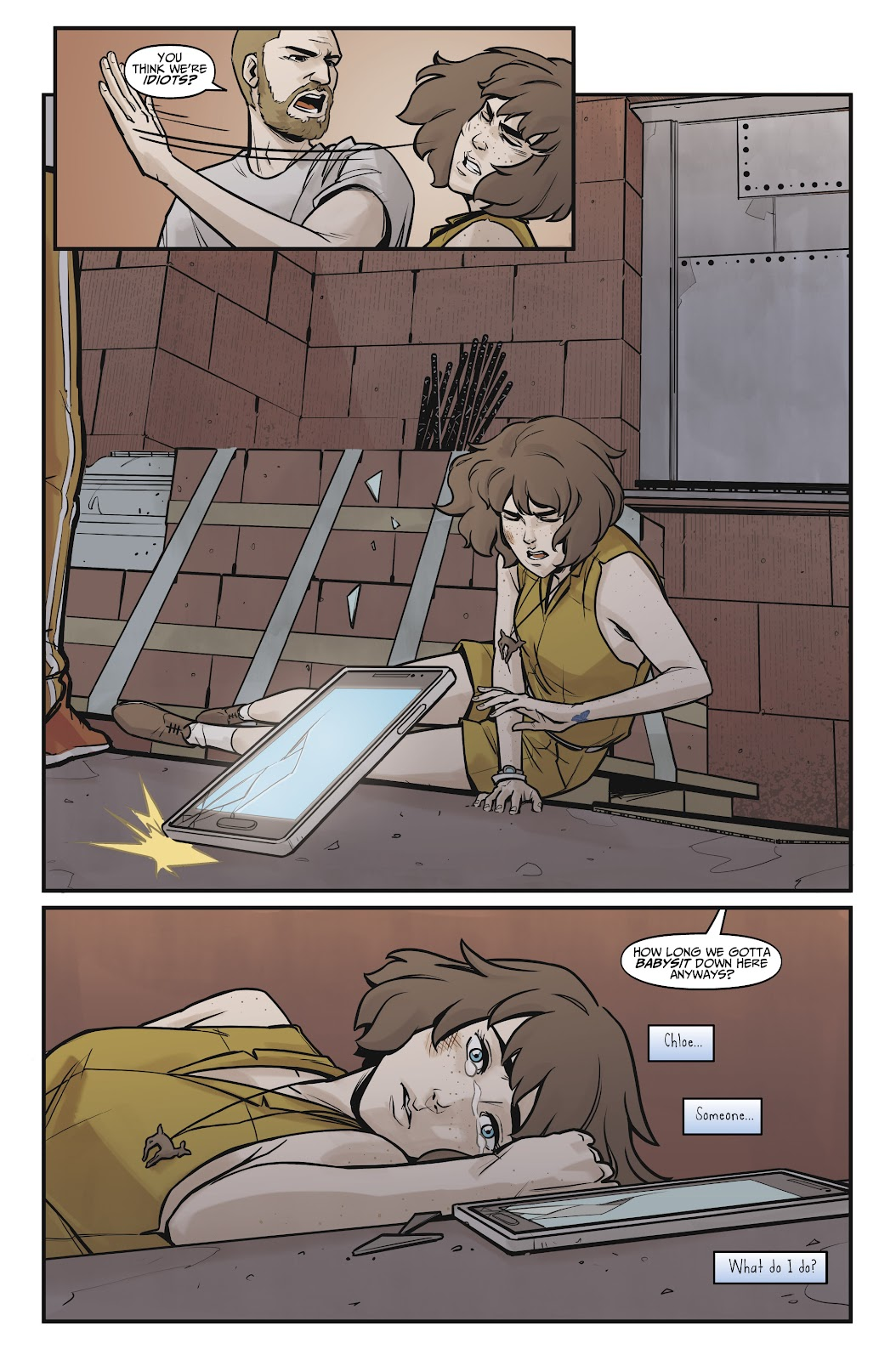 Read online Life is Strange comic -  Issue #8 - 20
