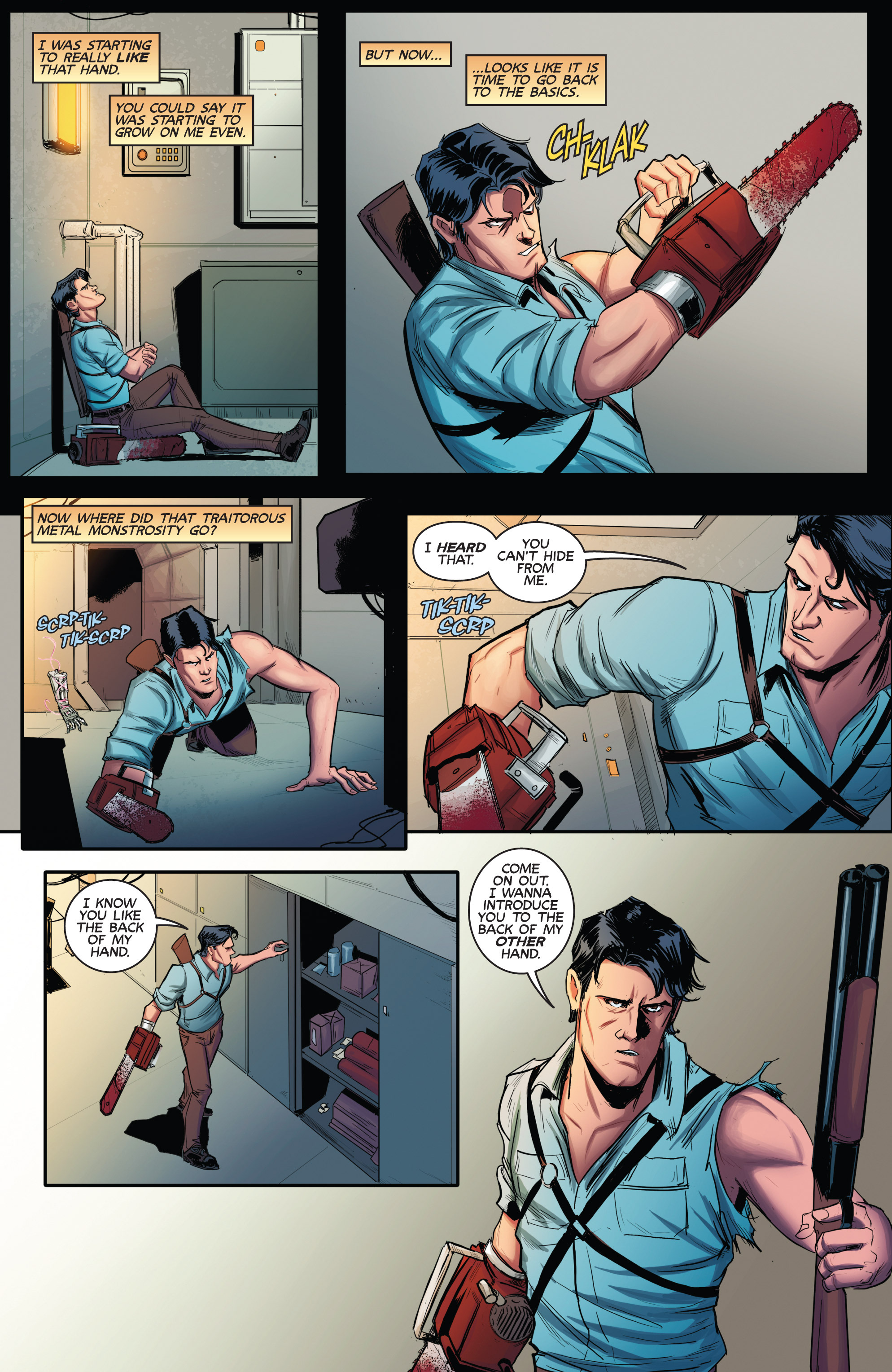 Read online Army of Darkness (2014) comic -  Issue #2 - 7