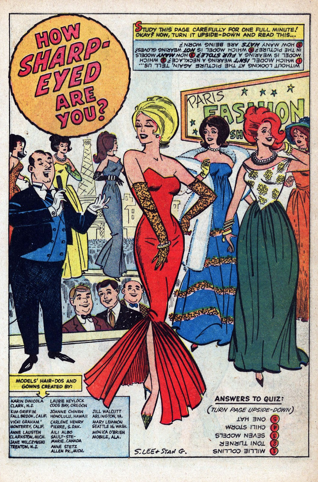 Read online Millie the Model comic -  Issue # Annual 1 - 55