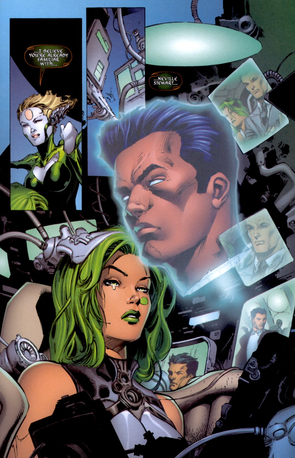 Read online Aphrodite IX (2000) comic -  Issue #4 - 21