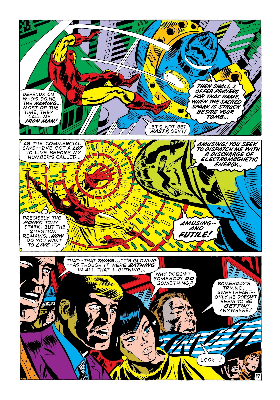 Read online Marvel Masterworks: The Invincible Iron Man comic -  Issue # TPB 7 (Part 3) - 45