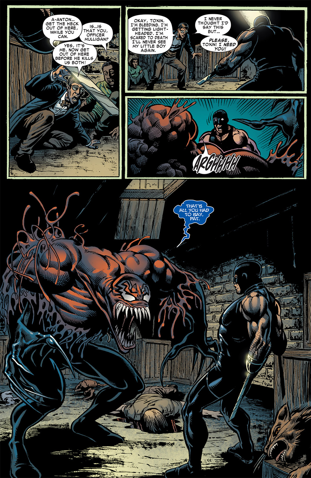 Read online Toxin comic -  Issue #3 - 6