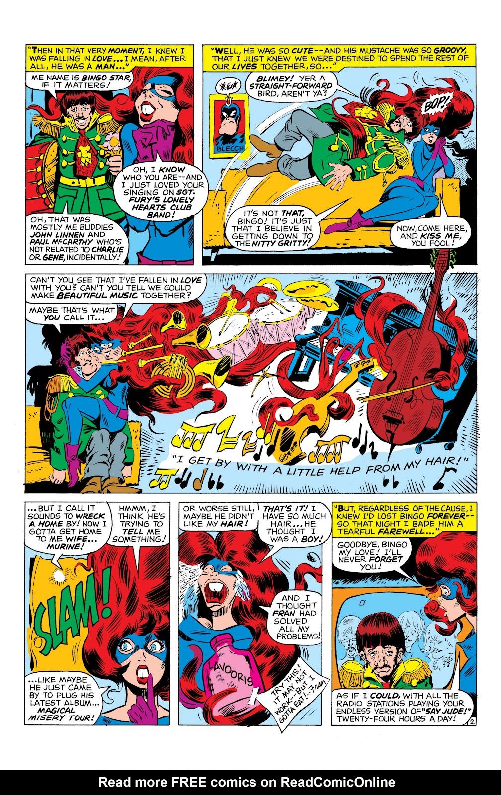 Read online Marvel Masterworks: The Inhumans comic -  Issue # TPB 1 (Part 3) - 35