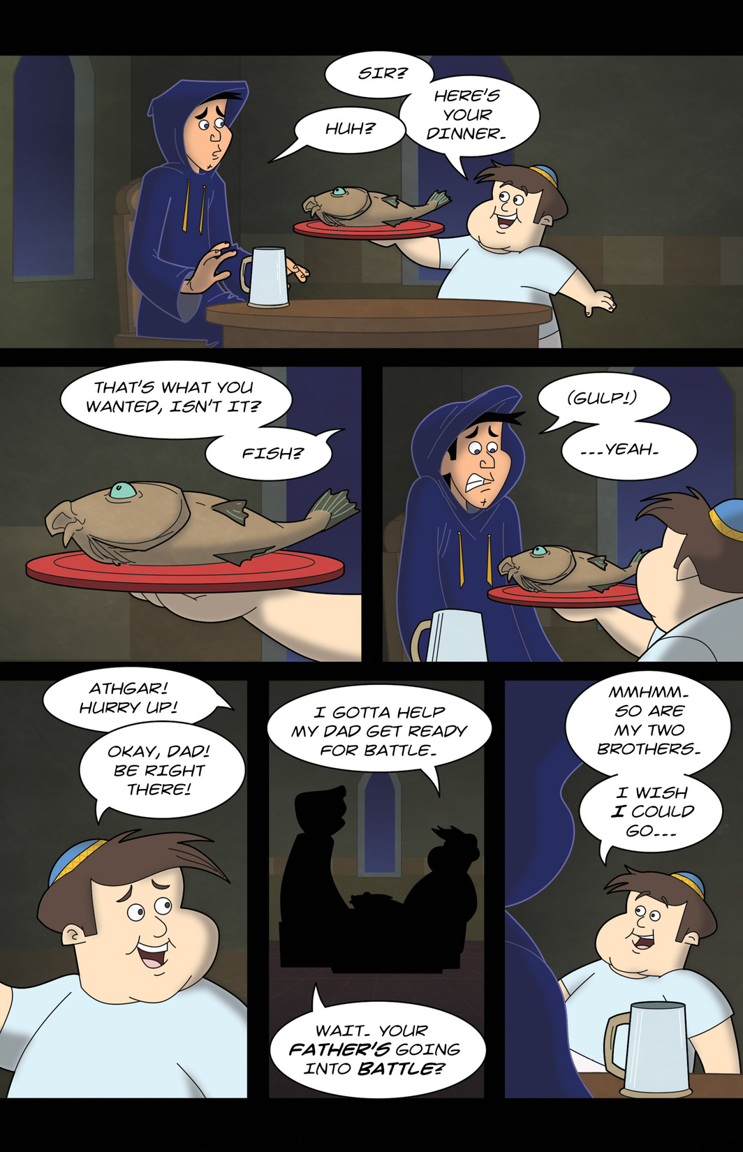 Read online 1001 Nights comic -  Issue #7 - 17