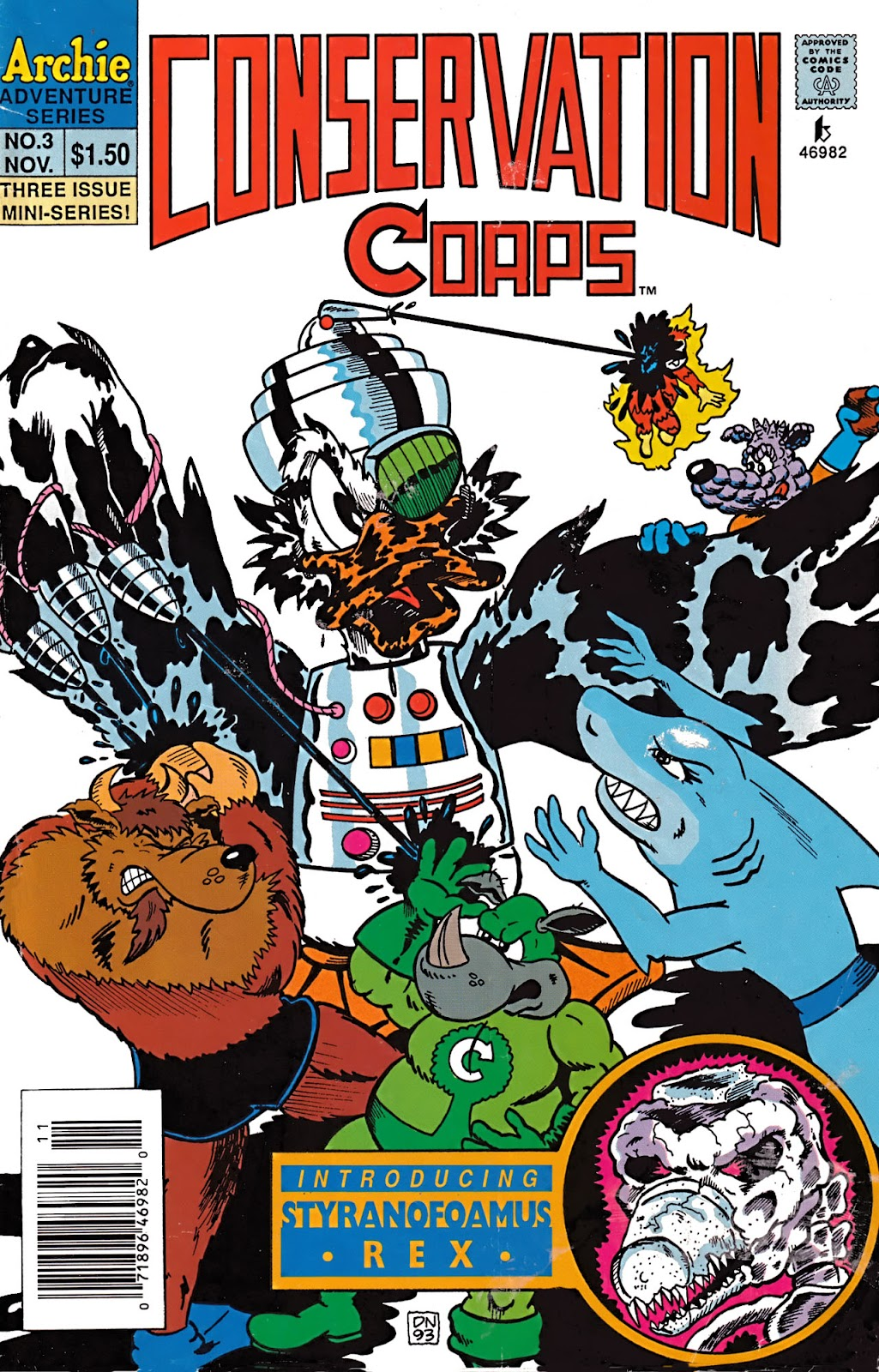 Read online Conservation Corps comic -  Issue #3 - 1