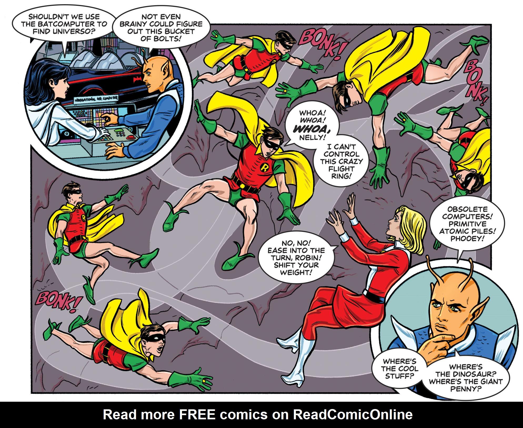 Read online Batman '66 Meets the Legion of Super-Heroes comic -  Issue #1 - 14