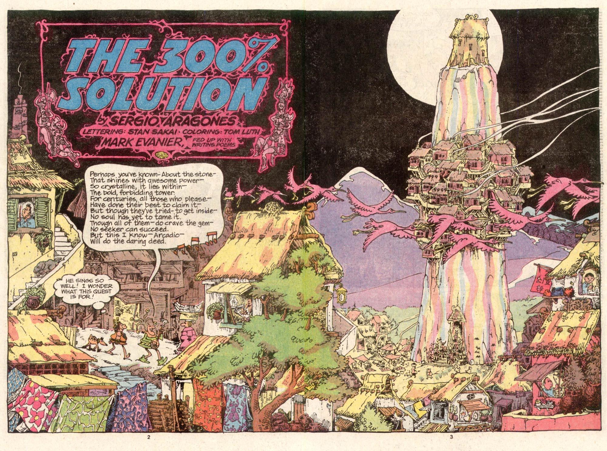 Read online Sergio Aragonés Groo the Wanderer comic -  Issue #47 - 3