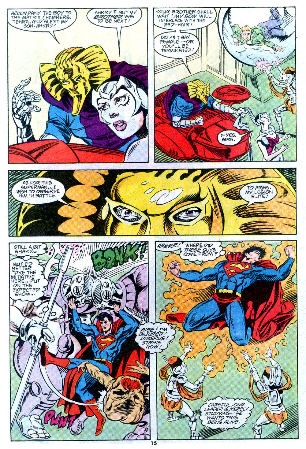 Read online Adventures of Superman (1987) comic -  Issue #443 - 17