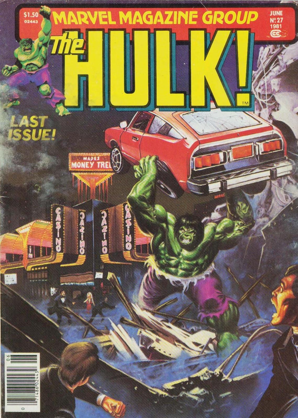 Hulk (1978) issue 27 - Page 1