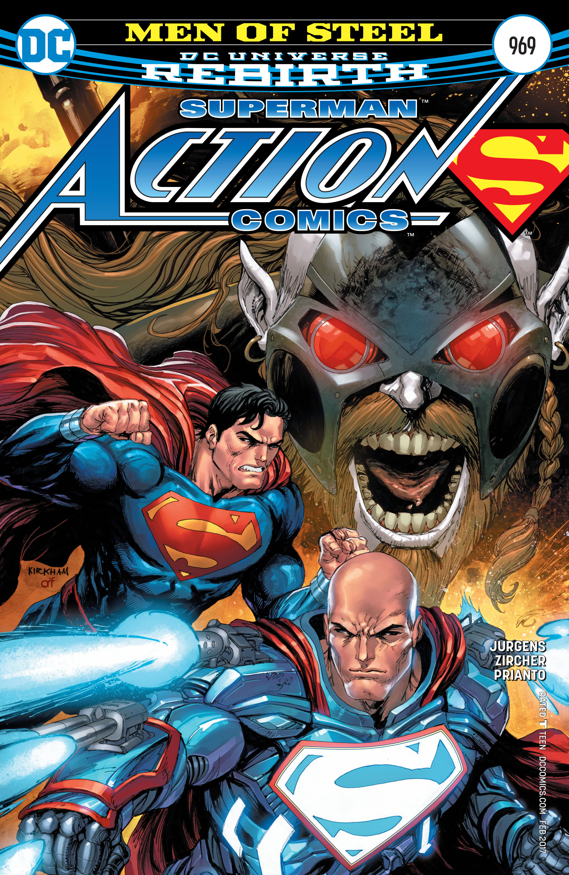 Read online Action Comics (2016) comic -  Issue #969 - 1
