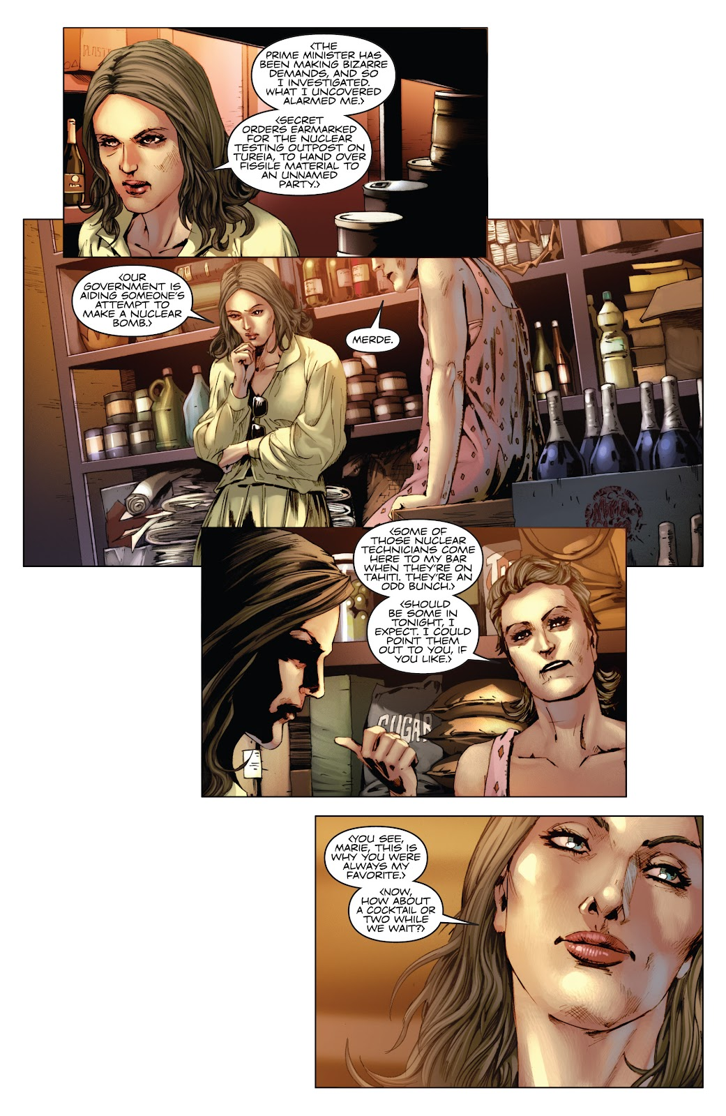 Read online Codename: Action comic -  Issue #3 - 12