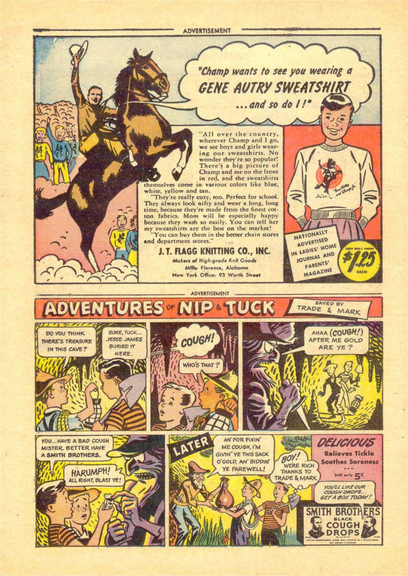 Read online Sensation (Mystery) Comics comic -  Issue #84 - 32
