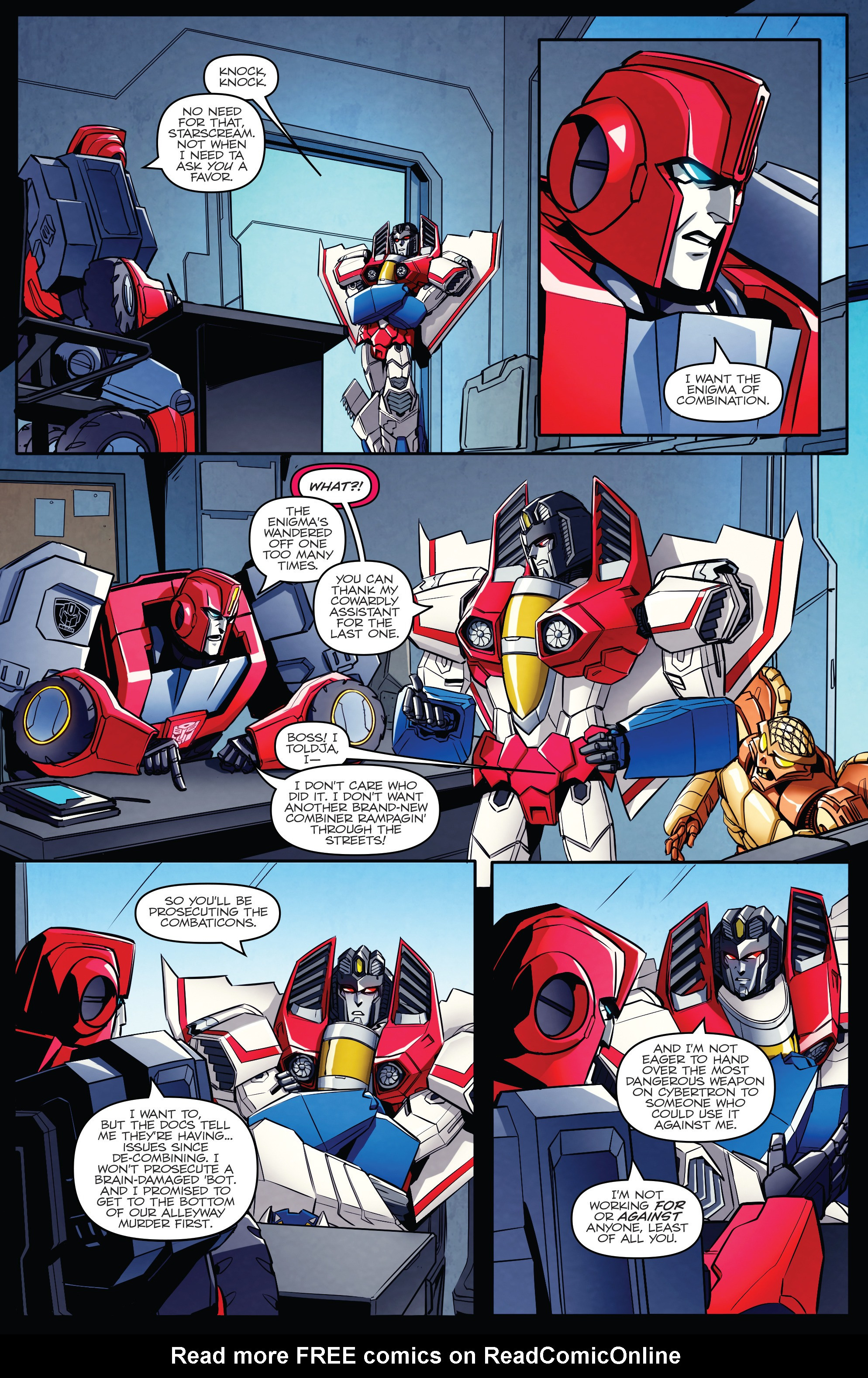 Read online Transformers: Till All Are One comic -  Issue #5 - 7
