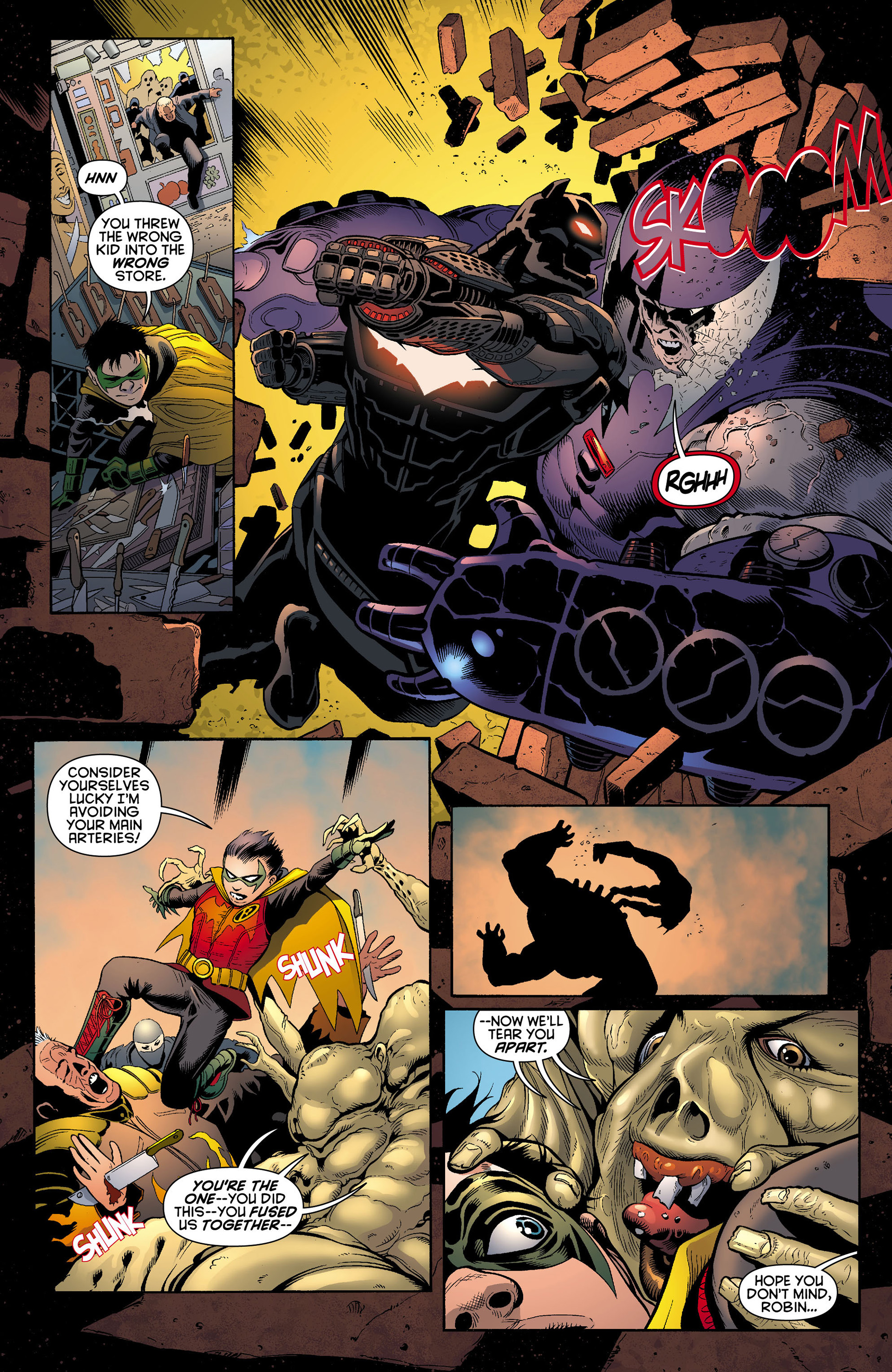 Read online Batman and Robin (2011) comic -  Issue #12 - 8