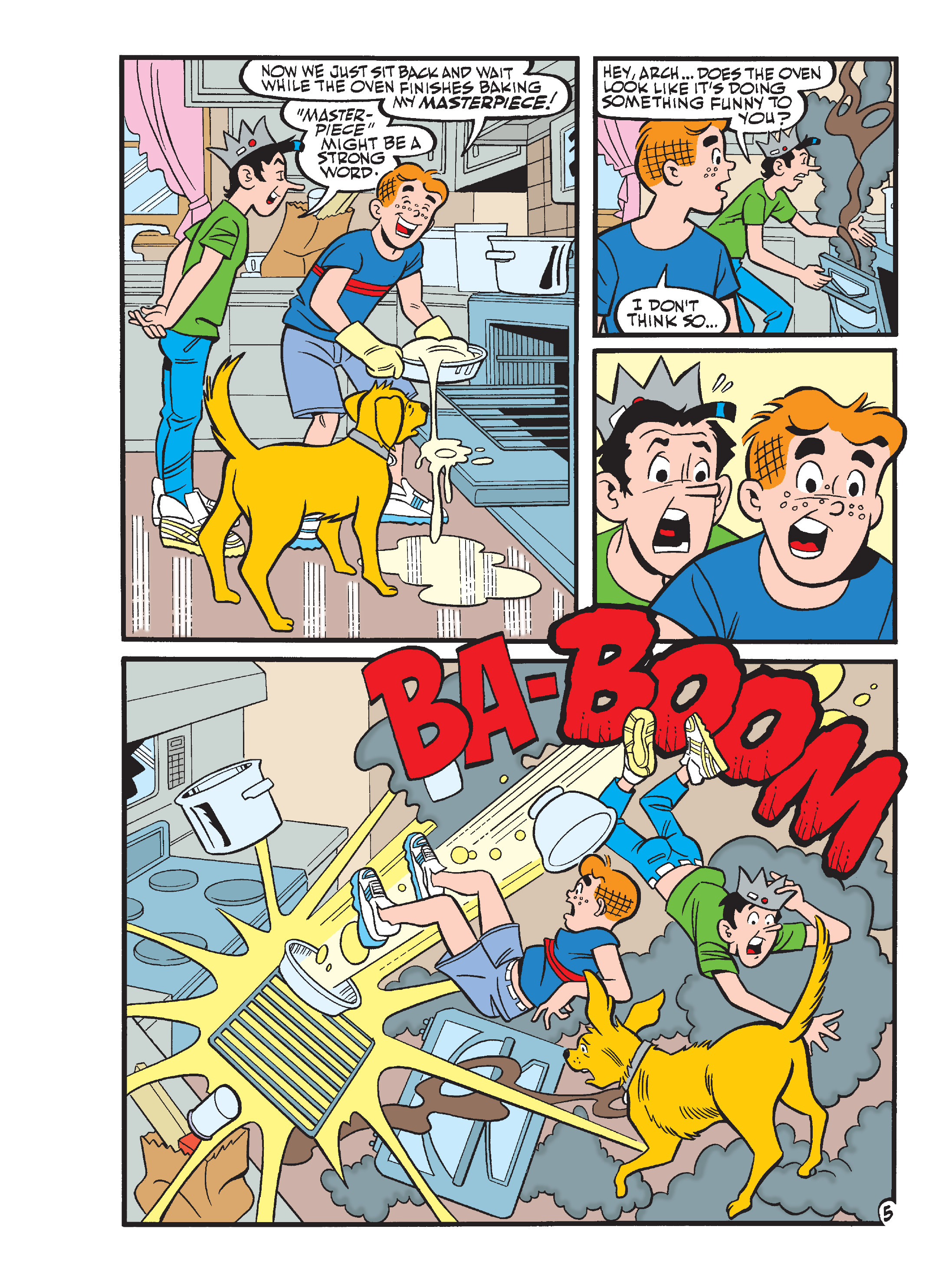 Read online Archie's Funhouse Double Digest comic -  Issue #17 - 6