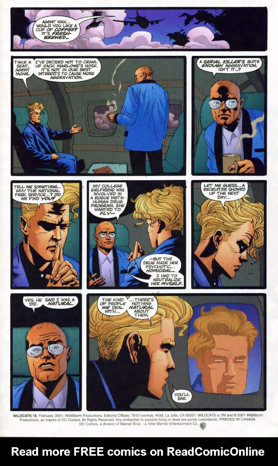 Wildcats (1999) Issue #18 #19 - English 2