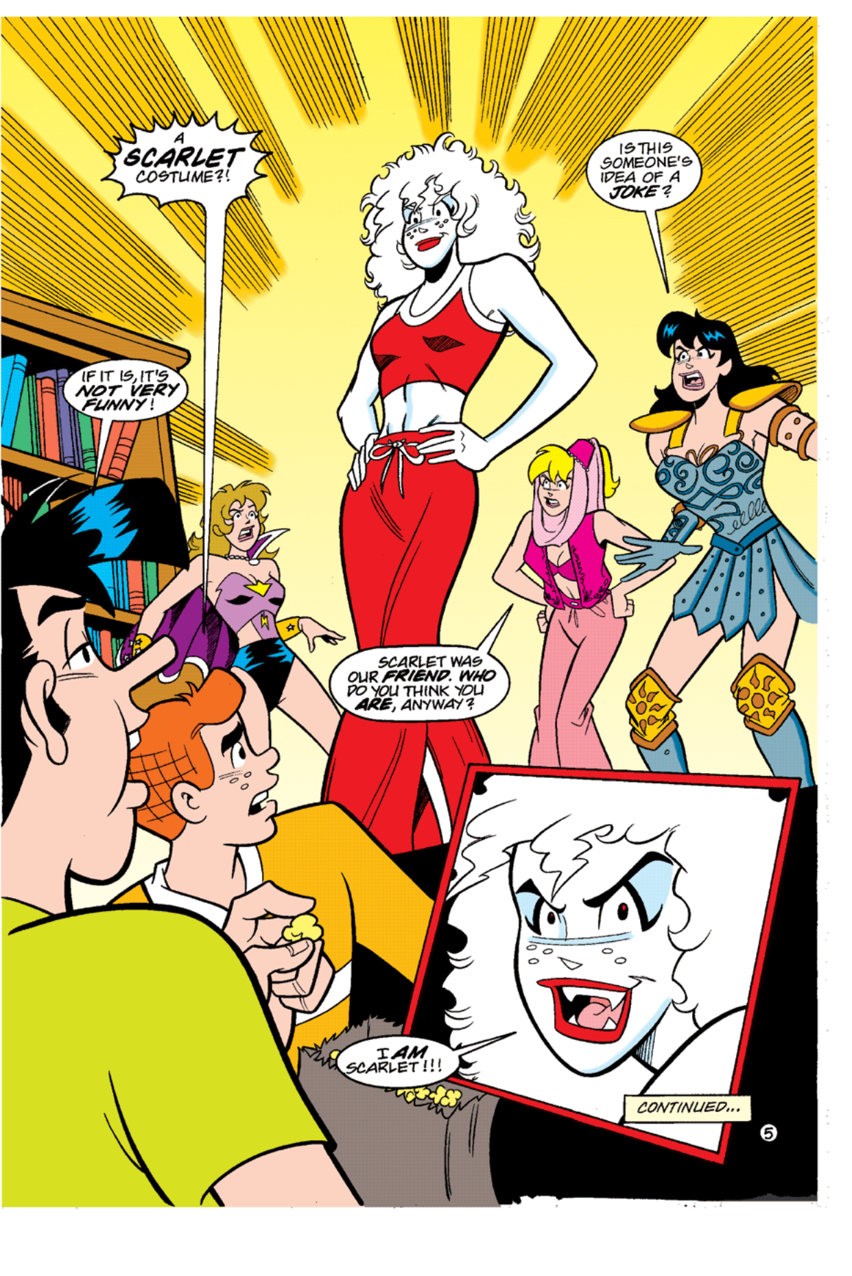 Read online Archie's Weird Mysteries comic -  Issue #12 - 7