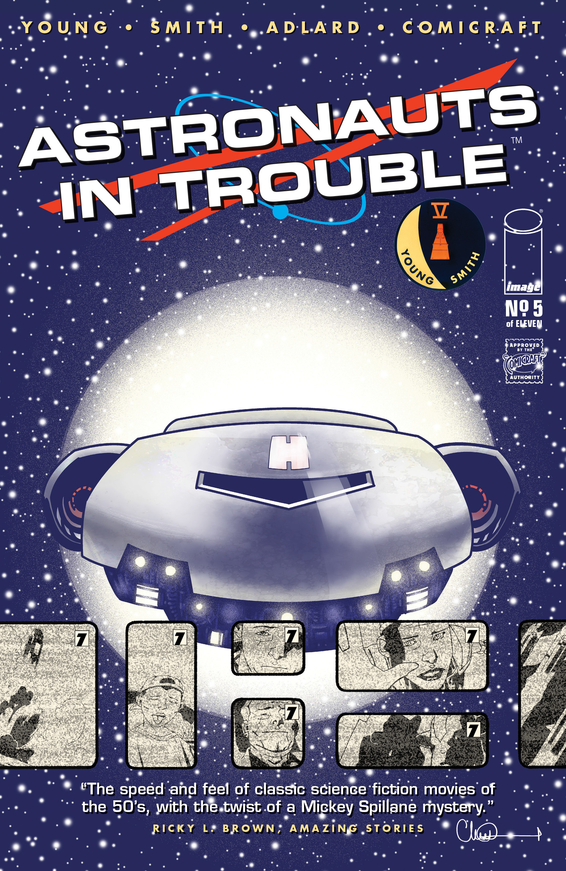 Read online Astronauts in Trouble (2015) comic -  Issue #5 - 1
