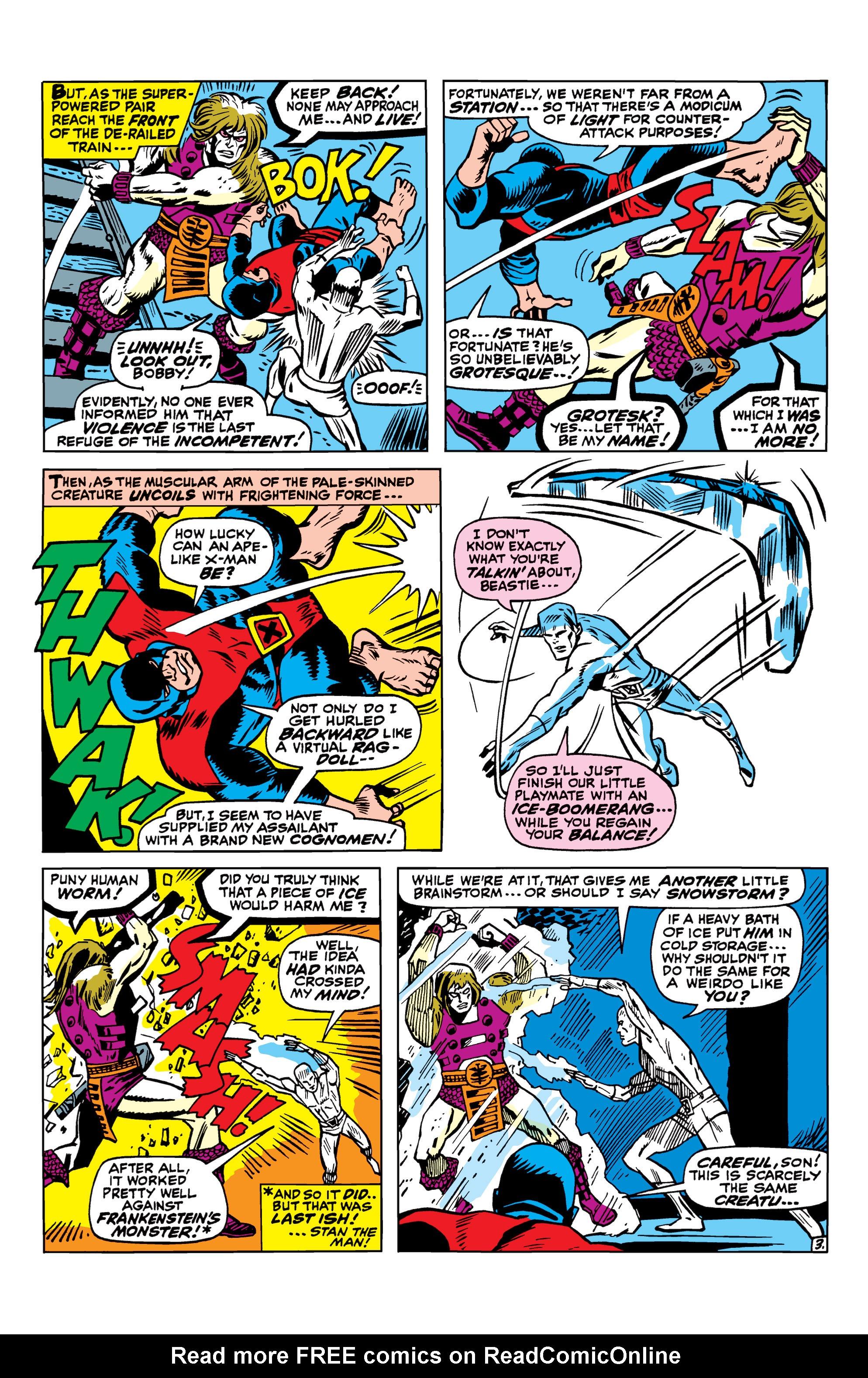 Read online Uncanny X-Men (1963) comic -  Issue #41 - 4