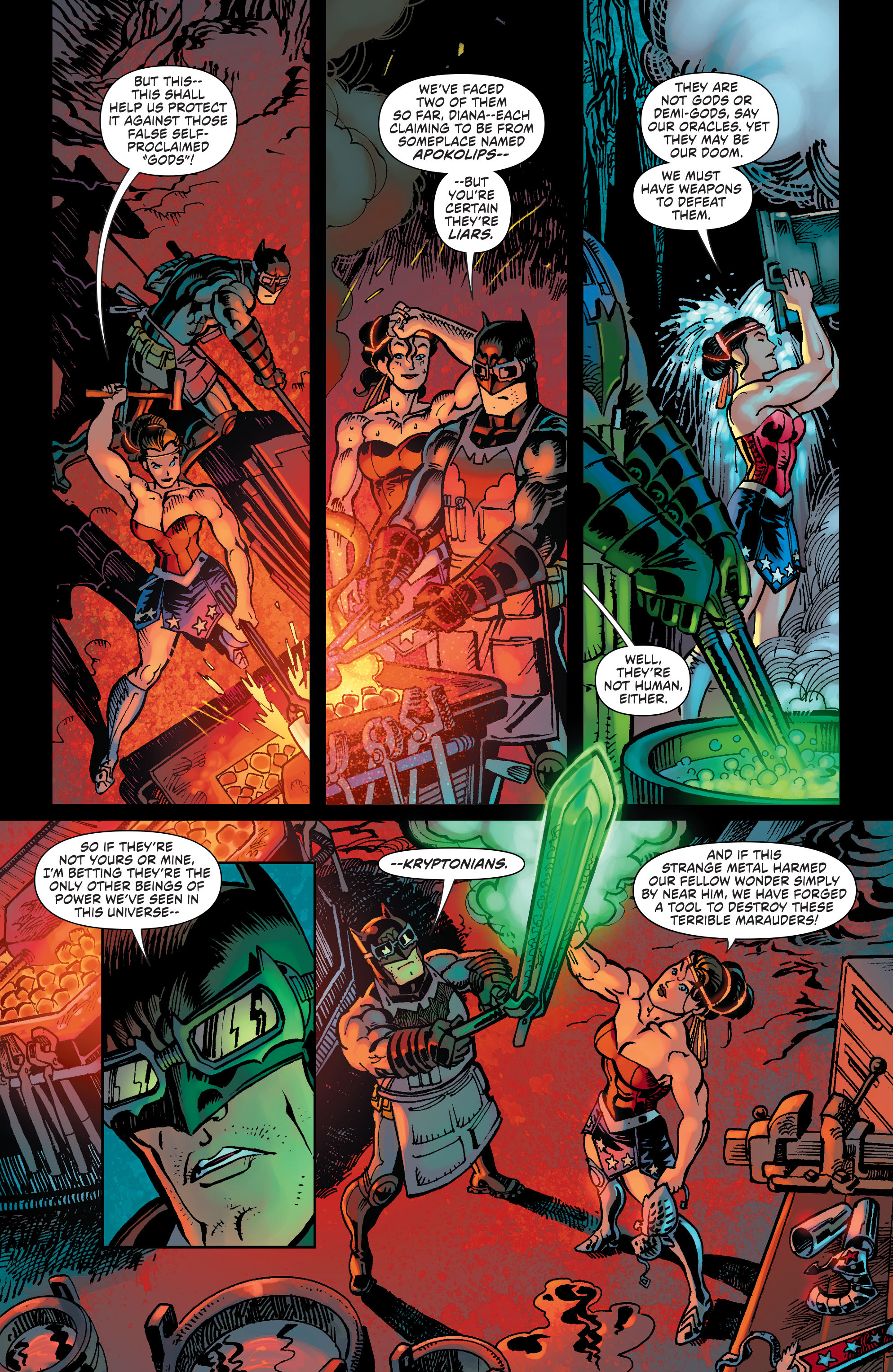 Read online Worlds' Finest comic -  Issue #32 - 4