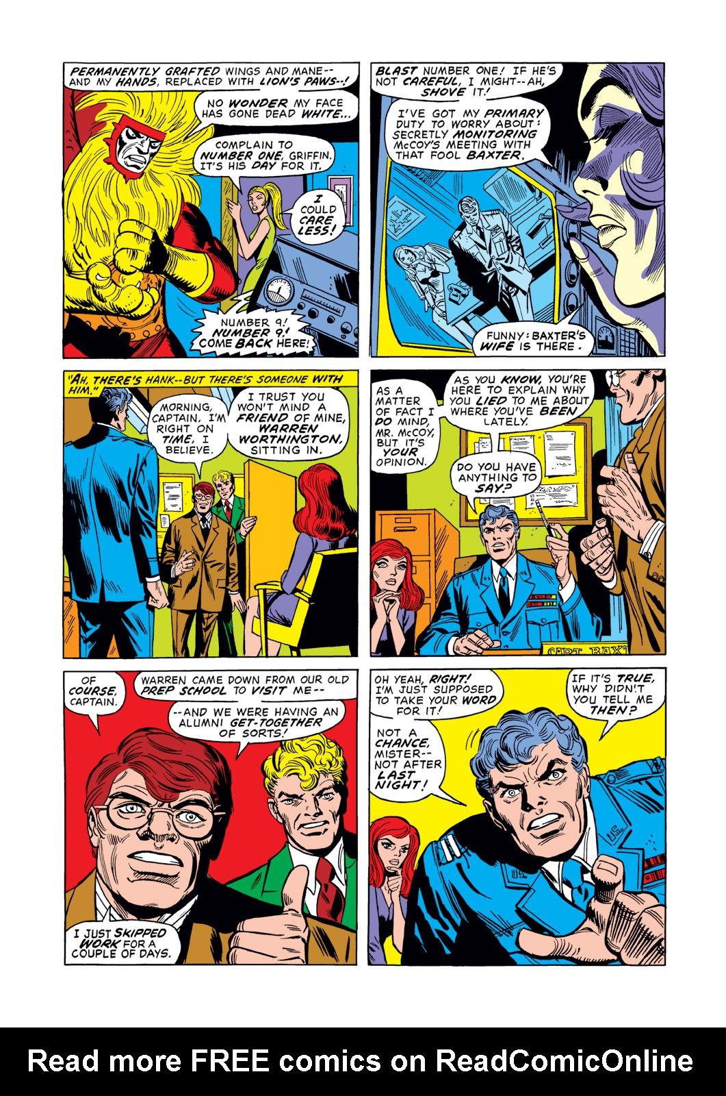 Read online Amazing Adventures (1970) comic -  Issue #15 - 14