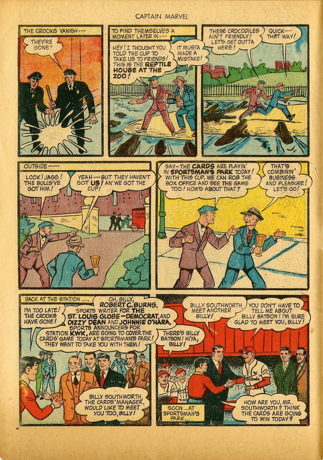 Captain Marvel Adventures issue 36 - Page 10