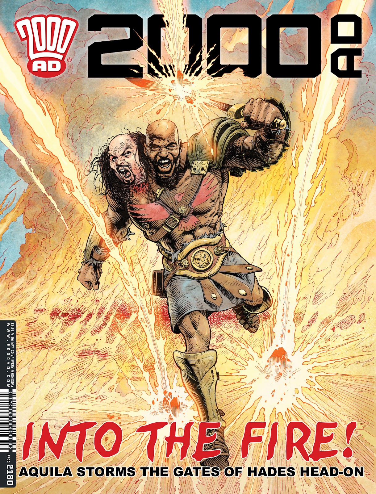 2000 AD 2180 Page 1