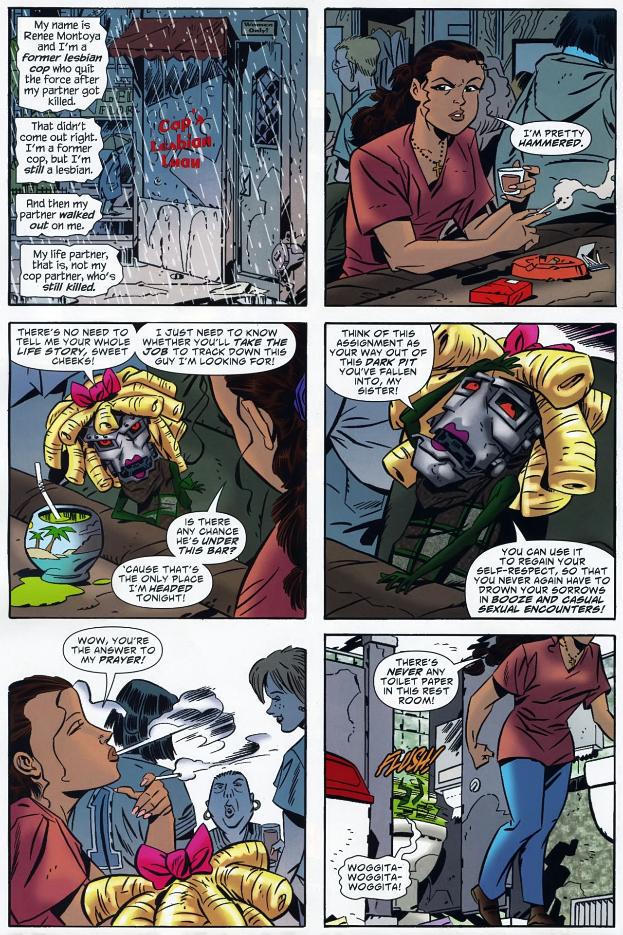 Read online Ambush Bug: Year None comic -  Issue #4 - 13
