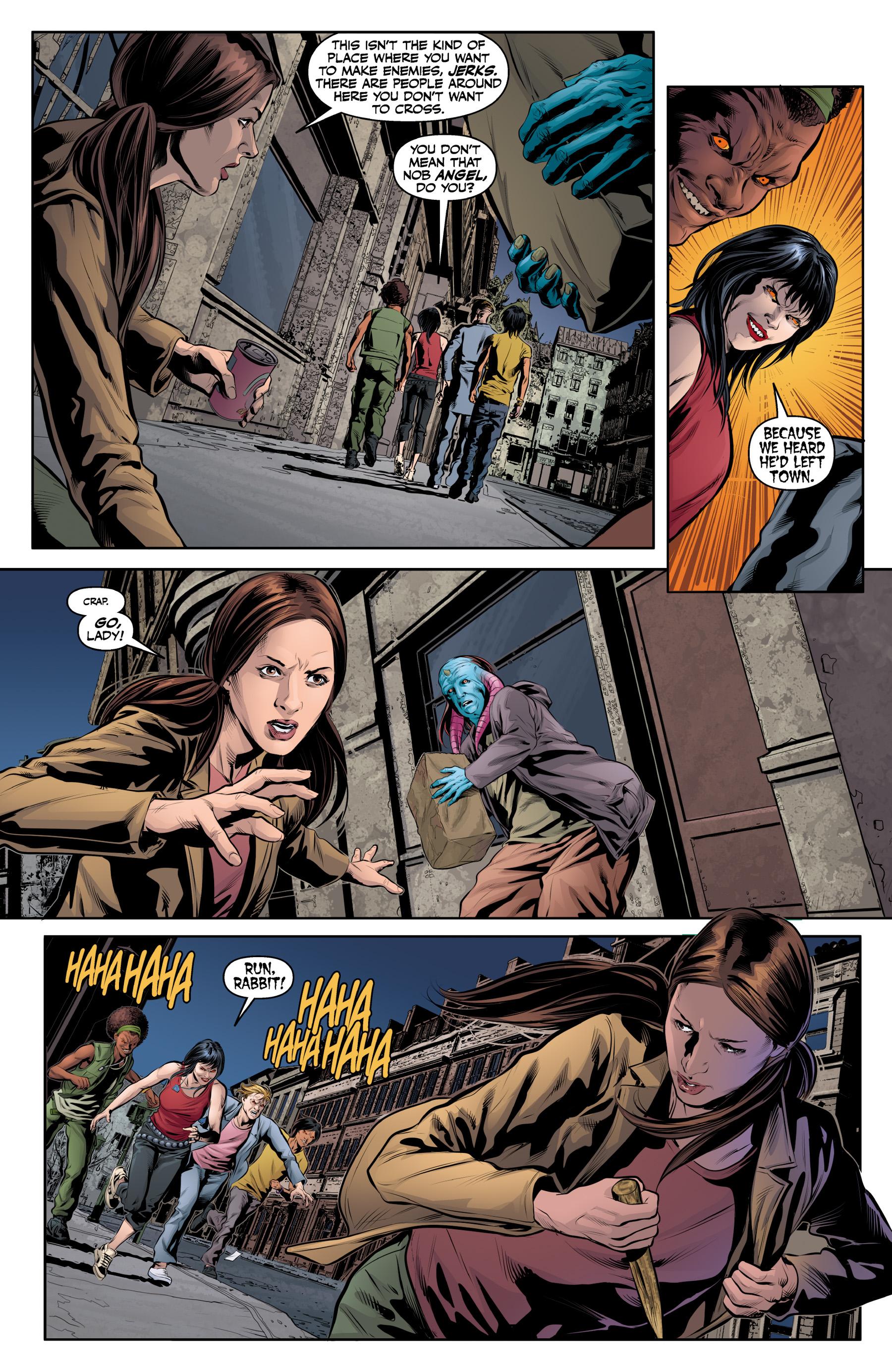 Read online Angel & Faith Season 10 comic -  Issue #19 - 4