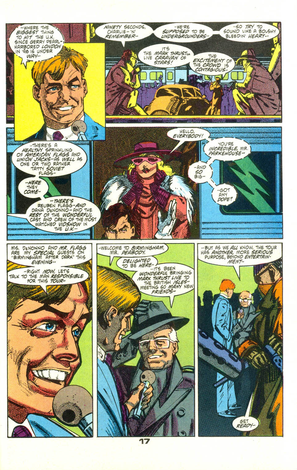 Read online American Flagg! comic -  Issue #25 - 19