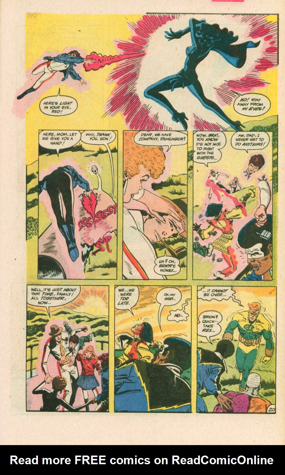 Read online Adventures of the Outsiders comic -  Issue #40 - 21
