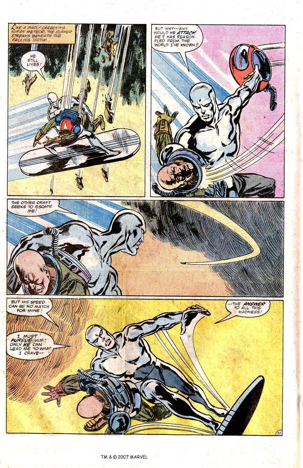 Read online Silver Surfer (1982) comic -  Issue # Full - 24