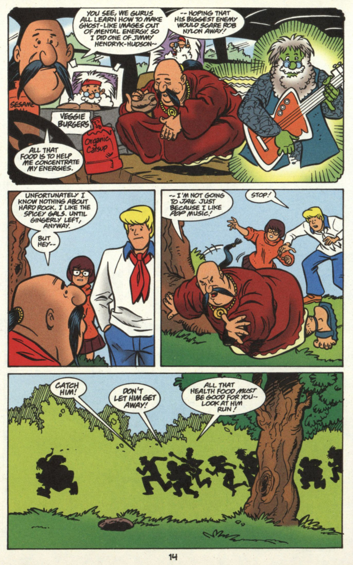 Read online Scooby-Doo (1997) comic -  Issue #16 - 13