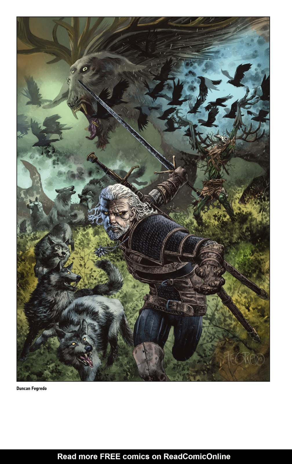 Read online The Witcher Omnibus comic -  Issue # TPB (Part 5) - 19