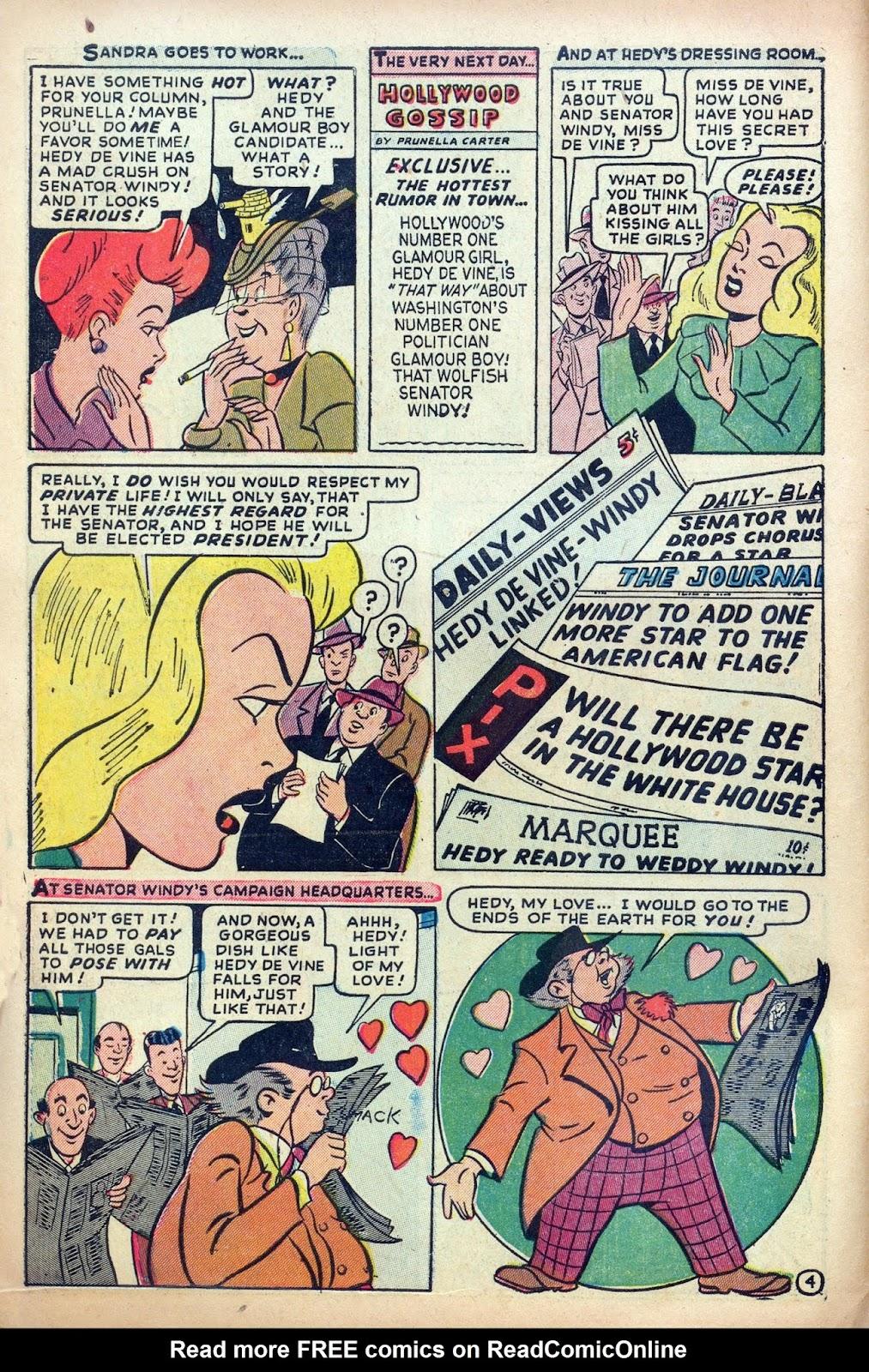 Hedy De Vine Comics issue 31 - Page 6